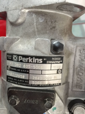 Stanadyne perkins pump